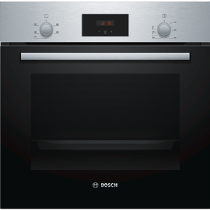Bosch HHF113BR0B S/Steel 3D Hot Air Fan Assisted Single Oven