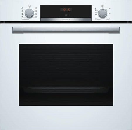 Bosch HBS534BW0B White Hot Air Fan Assisted Single Oven