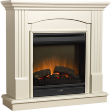 Load image into Gallery viewer, Dimplex  Chadwick Freestanding suite with integral Optiflame fire.