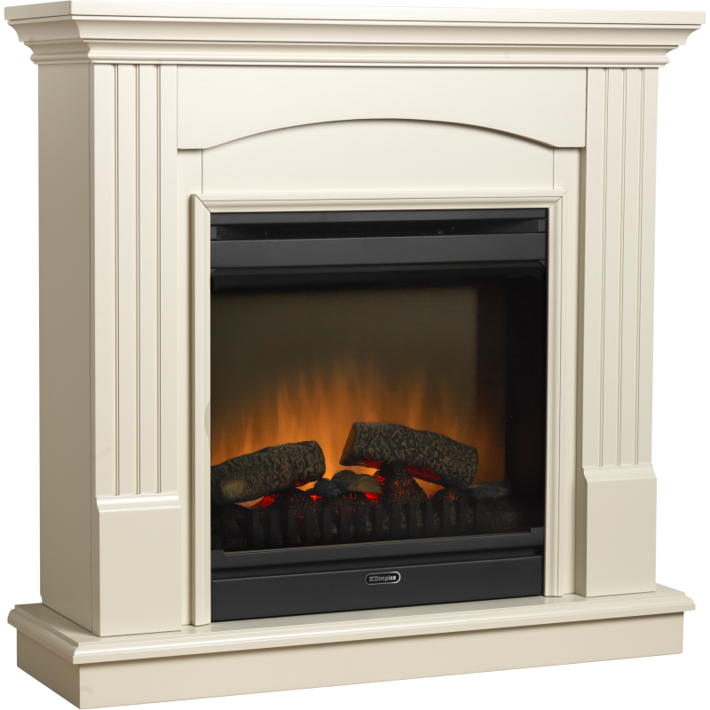 Dimplex  Chadwick Freestanding suite with integral Optiflame fire.