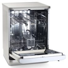 Load image into Gallery viewer, Montpellier DW1254S Silver Freestanding Full Size Dishwasher