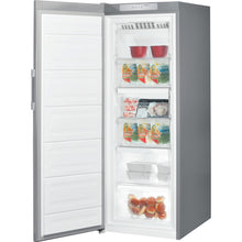 Load image into Gallery viewer, Indesit UI6F1TS Silver 270 Litre 167cm Tall Freezer