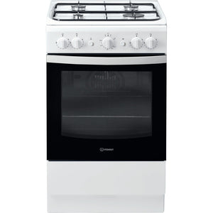 Indesit IS5G1KMW White Gas Single Cavity Cooker