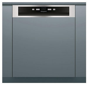 Hotpoint HBC2B19X Stainless Steel Semi Integrated 13 Place Dishwasher
