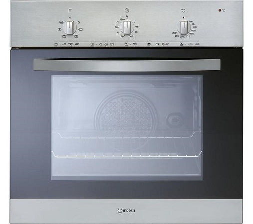 Indesit IVF5Y0IX Stainless Steel Single Electric Oven