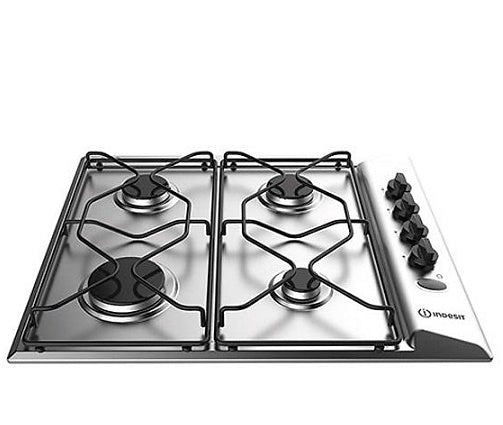 Indesit PAA642IXI Stainless Steel 60cm Gas Hob