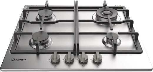 Indesit THP641WIXI 60cm Gas Hob With Wok Burner
