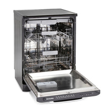 Load image into Gallery viewer, Montpellier MAB600K Black Retro Look 15 Place Dishwasher