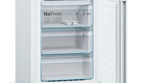 Bosch KGN36VWEAG Frost Free Fridge Freezer - White - A++ Energy Rated