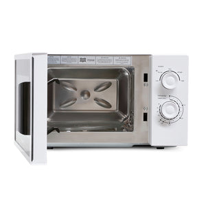Montpellier MMW22S Stainless Steel Cavity White Microwave Oven