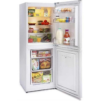 Montpellier MS148W White 50cm Fridgefreezer