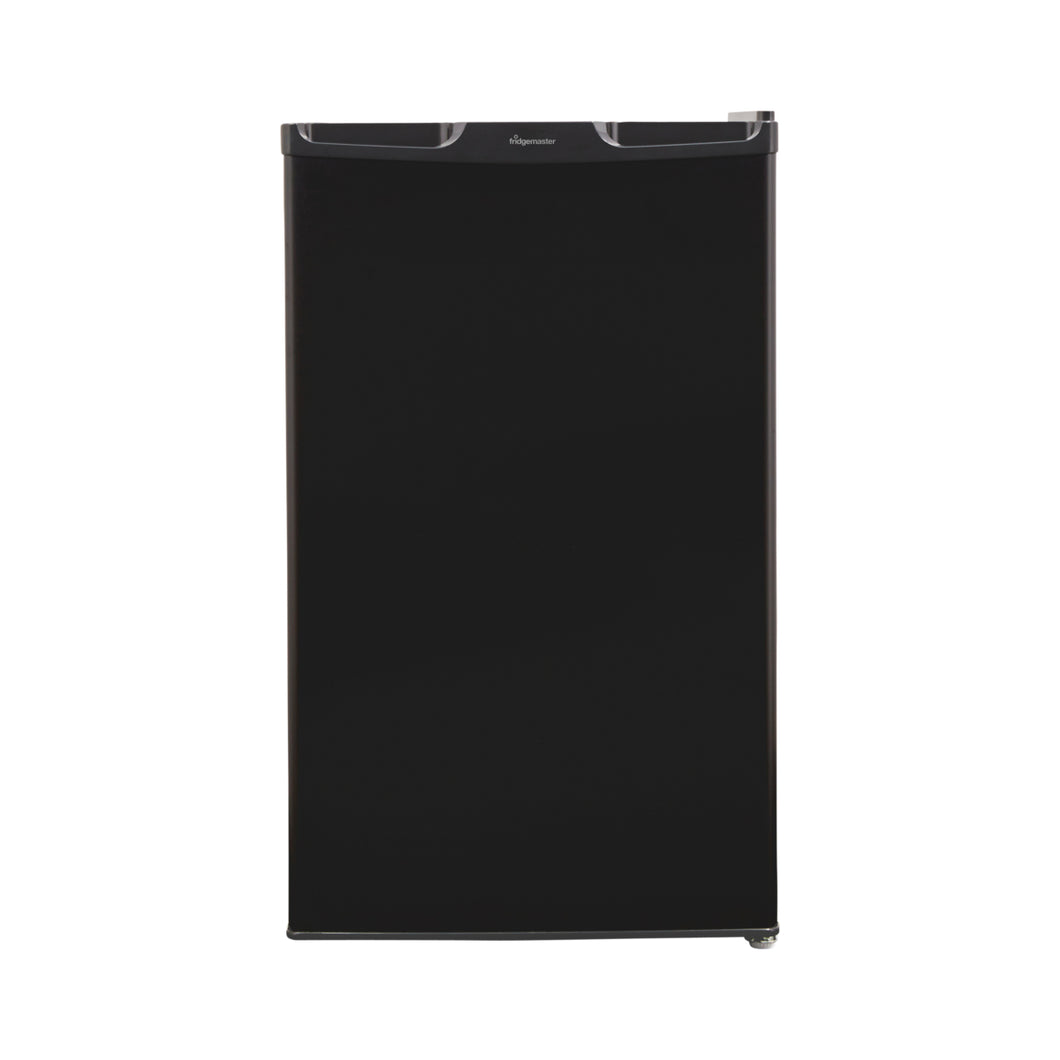 Fridgemaster MUL49102MB (Black) 50cm 104 Litre Larder Fridge