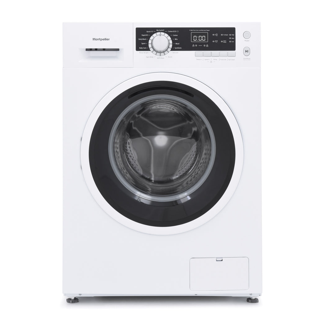 Montpellier MW8140P 8Kg Freestanding Washing Machine