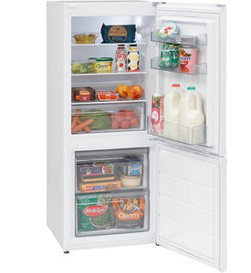 Montpellier MS136W White 136cm Tall Fridgefreezer