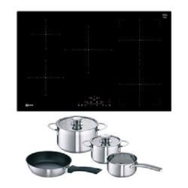 Neff T48FD23X2 80cm 5 Zone Induction Hob