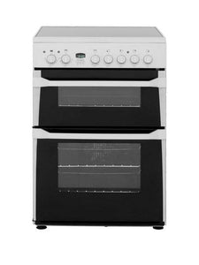 Indesit ID60C2WS 60cm Double Oven Electric Cooker