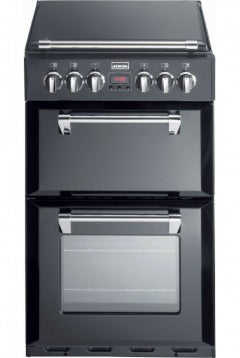 Stoves Richmond 550DFW Black Dual Fuel Mini Range Cooker