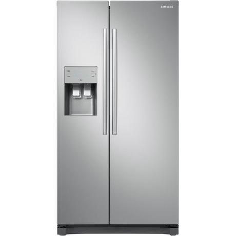 Samsung RS50N3513SL Silver Fridge Ice & Water Dispenser Side x Side