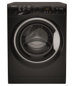 Hotpoint NSWE743UBS Black 7Kg Load 1400 Spin Washing Machine