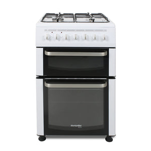 Montpellier TDF60W 60cm Wide Twin Cavity Dual Fuel Cooker