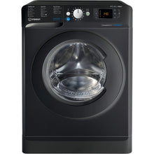 Load image into Gallery viewer, Indesit BDE861483XK Black 8Kg Wash 6Kg Dry 1400 Spin Washer Dryer