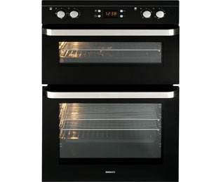 Beko ODF21300K Black Built In Double Oven
