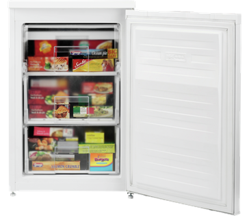 Beko UFF584APW 55cm Frost Free Under Counter Freezer. White.