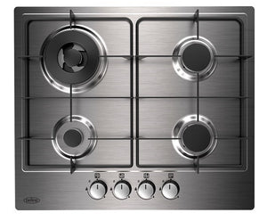 Belling GHU602GC Sta 60cm Stainless Steel Gas Hob