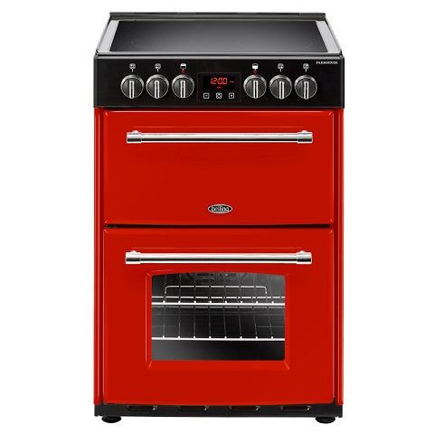 Belling Farmhouse 60E Hja Hot Jalapeno Electric Double Oven Cooker 444444712