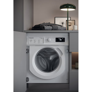 Hotpoint BIWDHG961484 UK Integrated Washer Dryer 9Kg Wash Load