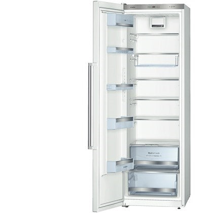Bosch KSV36AW3PG Loggix White 186cm Tall Low Energy A++ Larder Fridge