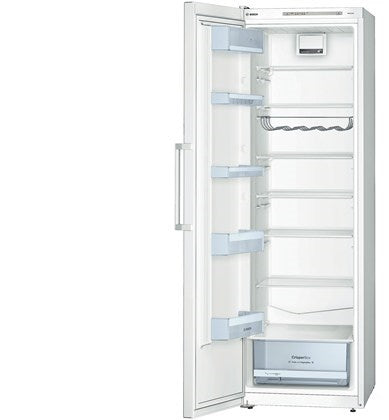 Bosch KSV36VW3PG White 186cm Tall Low Energy A++ Larder Fridge.