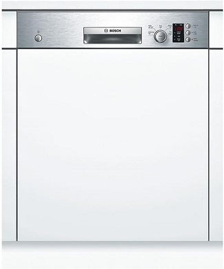 Bosch SMI50C15GB S/Steel Semi Integrated 12 Place A+ Rated Dishwasher