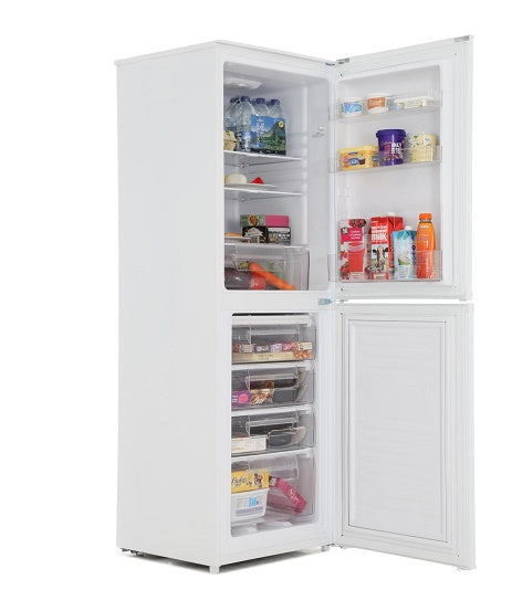 Candy CSS1566WE 166cm Tall 4 Drawer Freezer Fridge Freezer