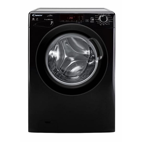 Candy GCSW496TBB Black 9Kg Wash 6Kg Drying Washer Dryer