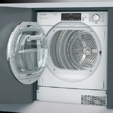 Hoover HBTDWH7A1TCE Integrated Built In Heat Pump Dryer