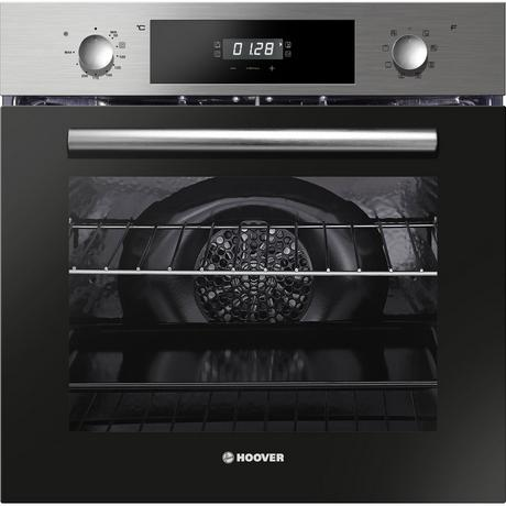 Hoover HO8SC65X Built In Electric Single Oven - Stainless Steel - A Rated