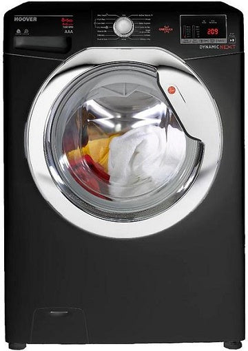 Hoover WDXOC585CB Black Washer Dyer 8Kg Wash 5Kg Dry