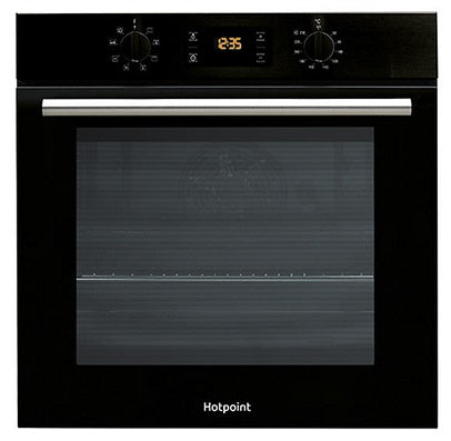 Hotpoint SA2540HBL Black Multifunction Single Oven