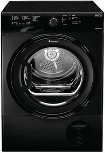 "Hotpoint TCFS83BGK Black 8 Kg ""B"" Energy Condenser Tumble Dryer"