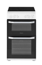 Load image into Gallery viewer, Hotpoint Cloe HD5V92KCW White 50cm Oven & Grill Cooker