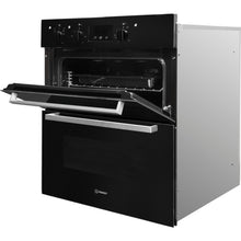 Load image into Gallery viewer, Indesit Aria IDU6340BL Electric Built-under Oven in Black