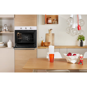 Indesit Aria IFW6330WH UK Electric Single Built-in Oven in White