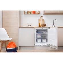 Load image into Gallery viewer, Indesit IZA1.1 60cm Built Under Integrated Freezer, 0.82m 91L A+