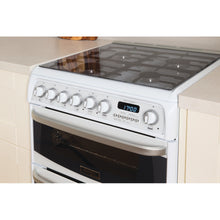 Load image into Gallery viewer, Hotpoint CH60GCIW White Gas 60cm Double Oven Cooker