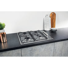 Load image into Gallery viewer, Hotpoint Newstyle PAN 642IXH Gas Hob - Stainless Steel