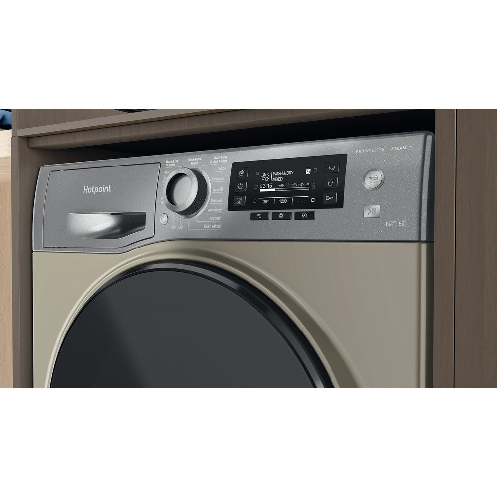 Indesit INC325FF.1 Integrated Frost Free Fridge Freezer, 1.74m 50/50 A+