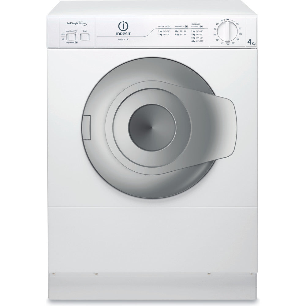 Indesit NIS41V  Compact 4Kg Tumble Dryer in White