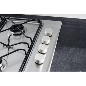 Hotpoint Newstyle PAN 642IXH Gas Hob - Stainless Steel