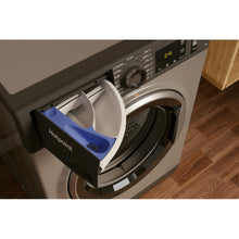 Load image into Gallery viewer, Hotpoint NM11945GCAUKN 9kg 1400 Spin Washing Machine - Graphite